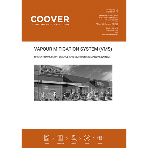 Coover operational maintenance and monitoring report
